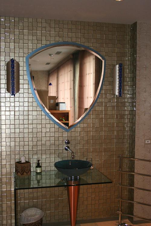 glass bathroom sink design